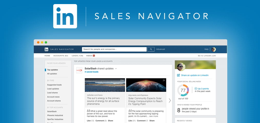 Discover how to improve your sales from home. A complete guide to get the most out of Linkedin